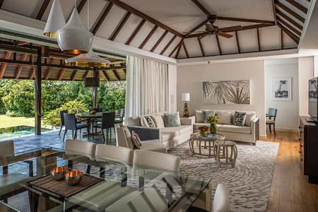 Lounge at Anahita Mauritius
