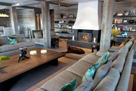 Lounge at The Lodge Switzerland