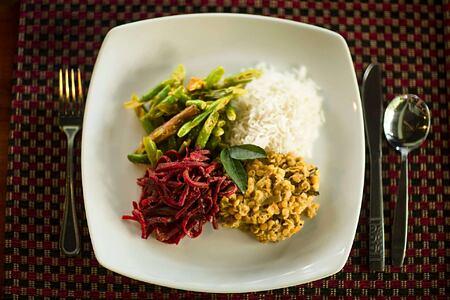 Lunch at Talalla Retreat Sri Lanka
