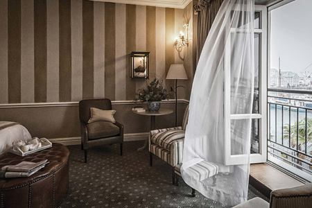 Luxury room at Cape Grace Hotel South Africa