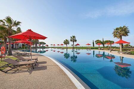 Main pool at Cascade Resort Algarve Portugal