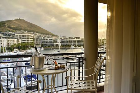 Marina View from Superior Room at Cape Grace Hotel South Africa
