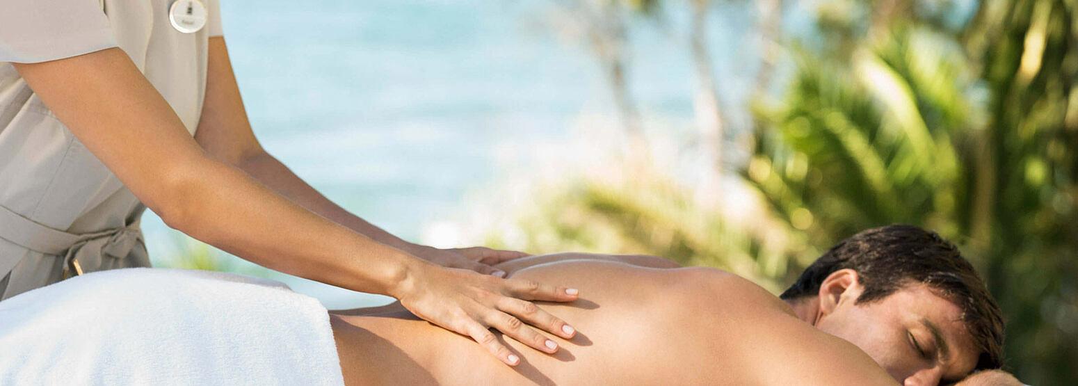 Massage at Marbella Beach Club Spain