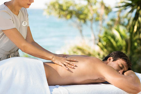 Massage at Marbella Beach Club Spain