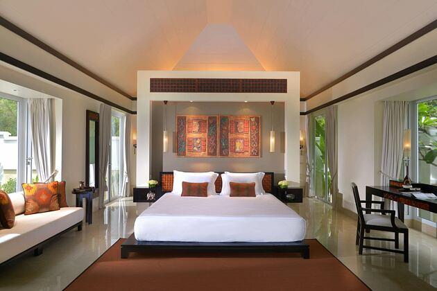 Master Bedroom at Banyan Tree Seychelles