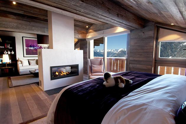 Master suite one bedroom at The Lodge Switzerland