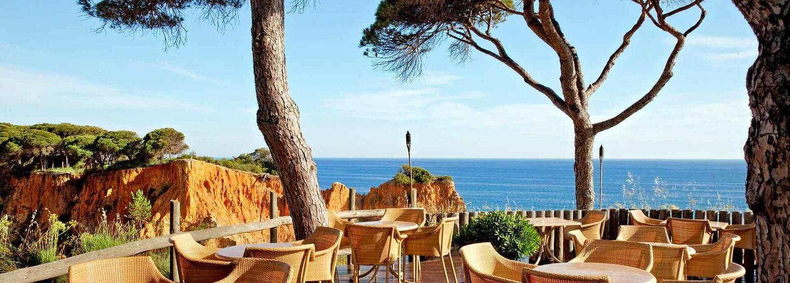 Mirador Champagne Bar at Pine Cliffs, Portugal