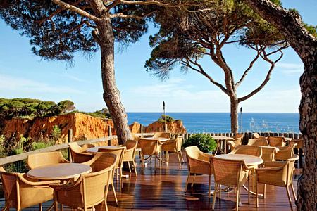 Mirador Champagne Bar at Pine Cliffs, Portugal