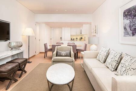 Ocean Suite Living Area at Pine Cliffs, Portugal