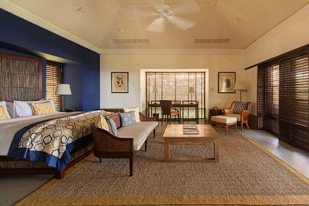 Ocean residence bedroom at Cape Weligama Sri Lanka