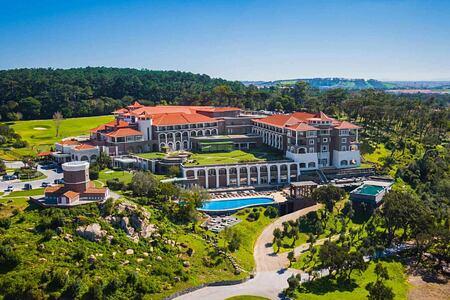 Panorama view of Penha Longa, Portugal