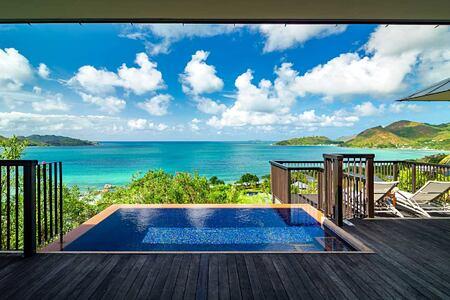 Panoramic Deck at Raffles Praslin Seychelles