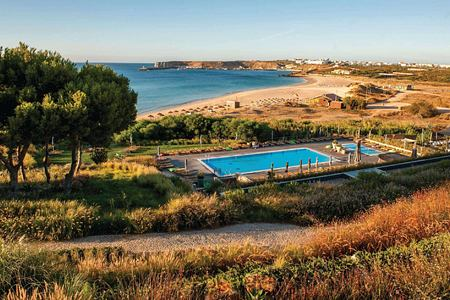 Panoramic view at Martinhal Resort, Portugal