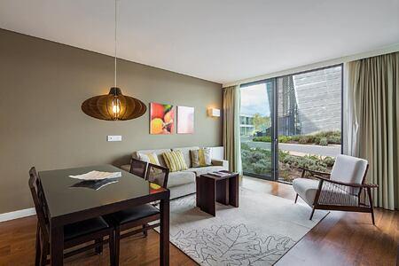 Patio suite at Monchique Resort Portugal