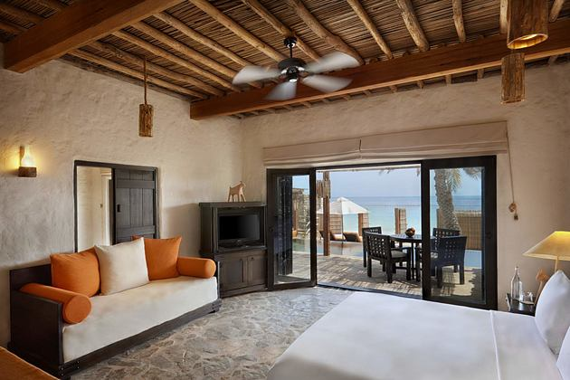 Pool Villa Suite at Six Senses Zighy Bay Oman