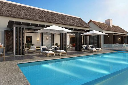 Pool at Owners Villa at Delaire Graff South Africa