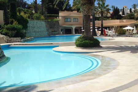 Pool at Vilalara Thalassa Resort, Portugal