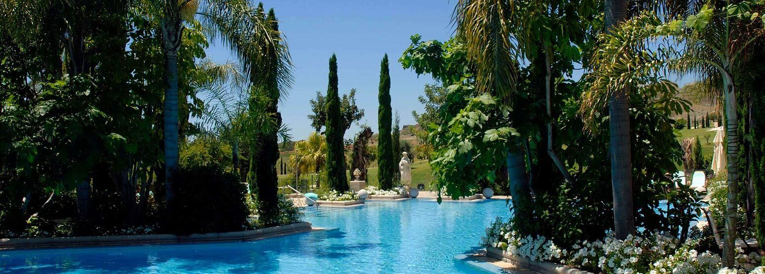 Pool at Villa Padierna Spain