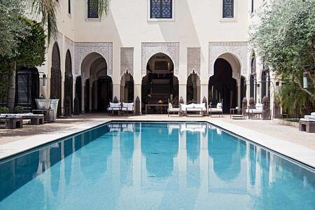 Pool at Villa des Oranges Morocco