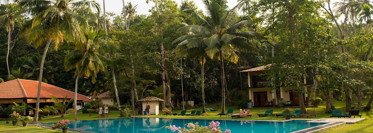 Pool at at Talalla Retreat Sri Lanka