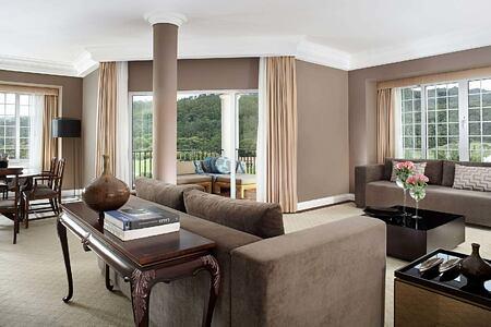 Presidential Suite living room at Penha Longa, Portugal
