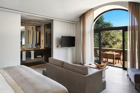 Quinta River room with terrace at Six Senses Douro Valley Portugal