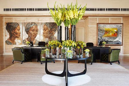 Reception Area at Delaire Graff South Africa
