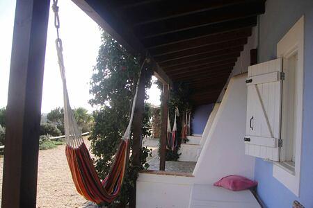 Relaxing hammock at Monte Velho, Portugal