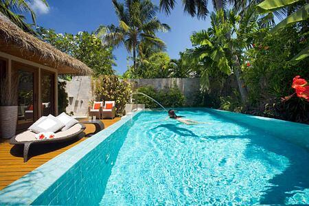 Residence Pool at Baros Maldives