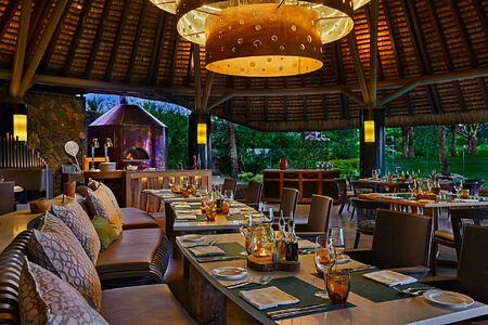 Restaurant at Anahita Mauritius