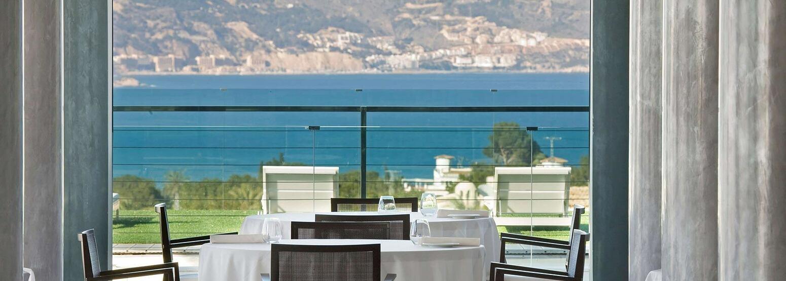 Restaurant at SHA Wellness Spain