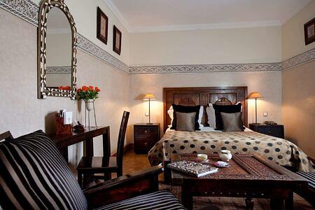 Room with terrace at Villa des Oranges Morocco