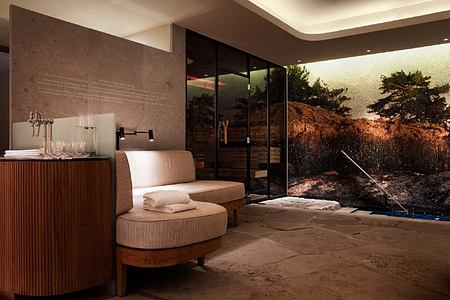 SPA Changing room at the Lydmar Sweden