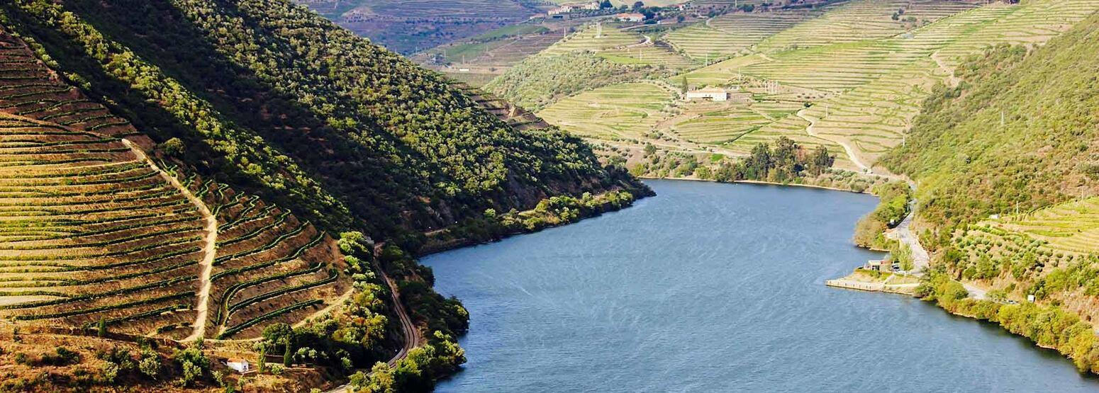 Sailing through Douro River at Six Senses Douro Valley Portugal