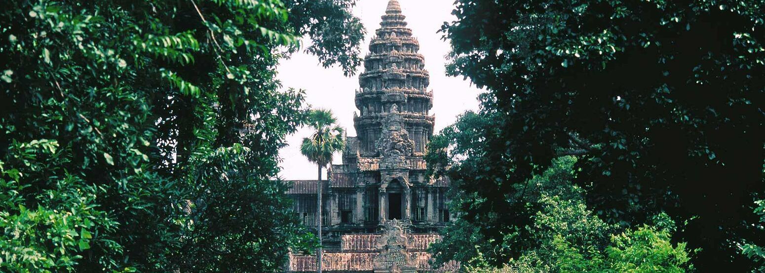 Ancient temple at Siem Reap Angkor Cambodia