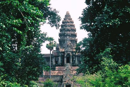 Ancient temple at Siem Reap Angkor Cambodia