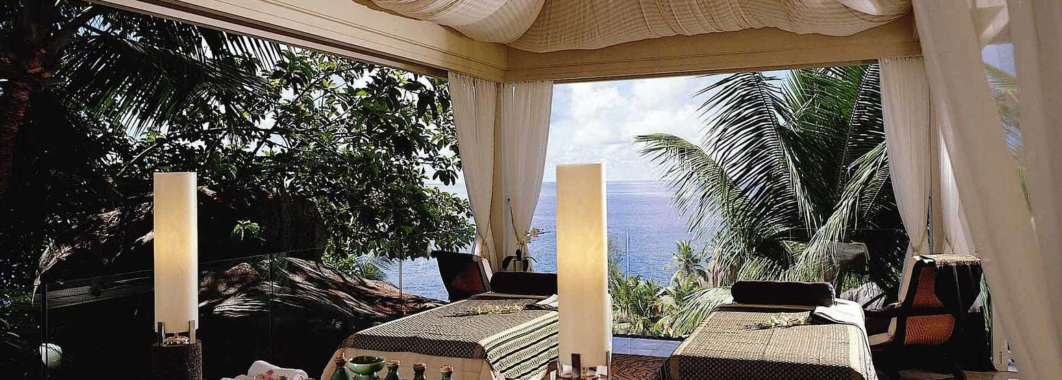 Spa Pavilion at Banyan Tree Seychelles