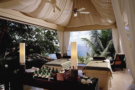 Spa Pavilion at Banyan Tree Seychelles