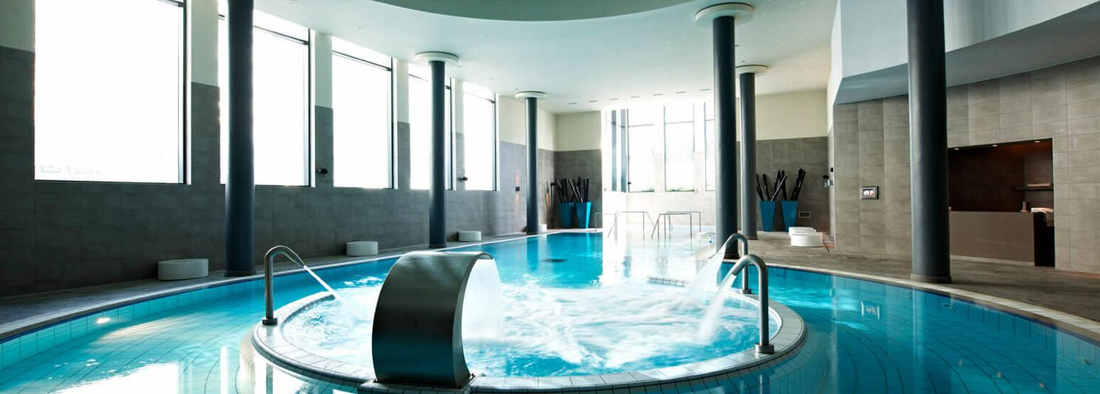 Spa pool at Palacio Estoril, Portugal