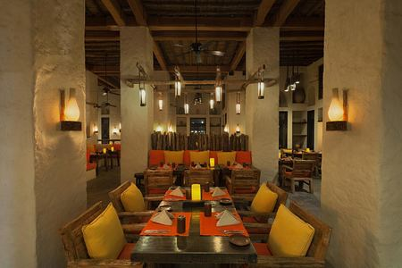 Spice Market interior at Six Senses Zighy Bay Oman