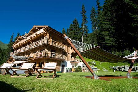 Summer at The Lodge Switzerland