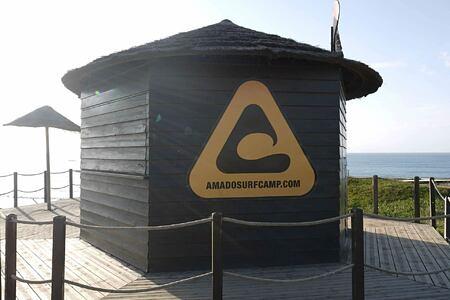 Surf camp at Monte Velho, Portugal