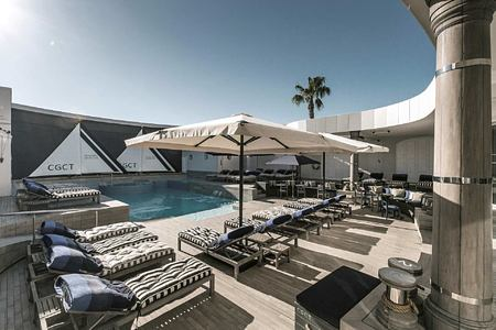 Swimming Pool at Cape Grace Hotel South Africa
