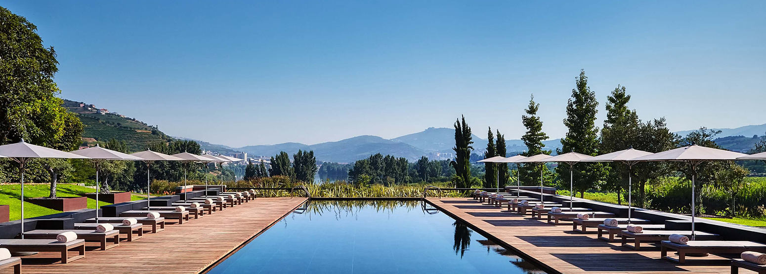 Swimming pool at Six Senses Douro Valley Portugal
