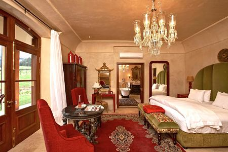Tang Suite Bedroom at la Residence South Africa