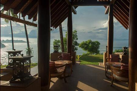 Taylor living pavilion at Cape Weligama Sri Lanka