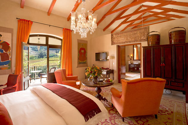 Tibetan Suite Bedroom at la Residence South Africa