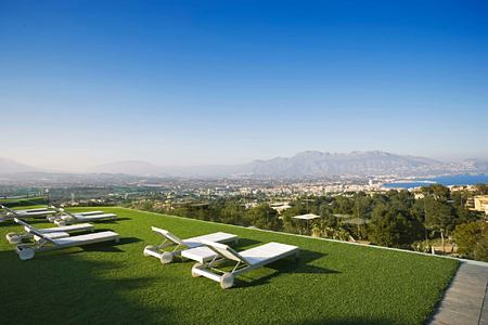 View from Infinity area at SHA Wellness Spain