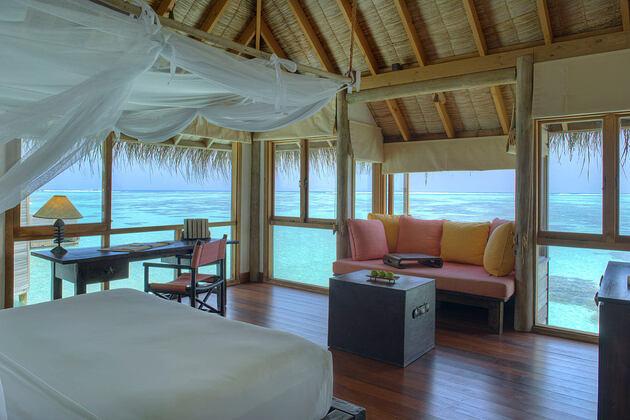 Villa Suite Bedroom at Gili Lankanfushi Maldives