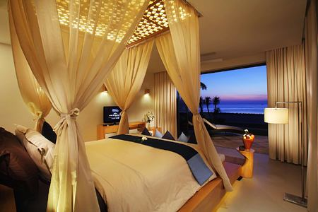 Villa bedroom at Abama Golf and Spa Resort Tenerife